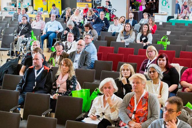 10 Jahre ALS-mobil e.V.: Fachkongress und Jubiläumsfeier. Copyright: Franca Wohlt