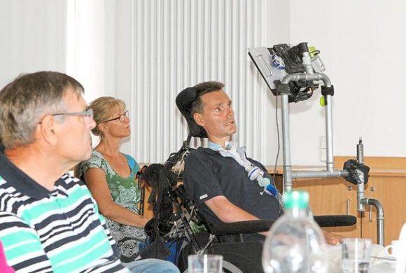 ALS-Betroffener schildert seine Krankheit