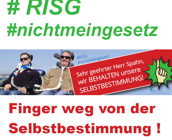 Demo für den Erhalt der Selbstbestimmung #RISG