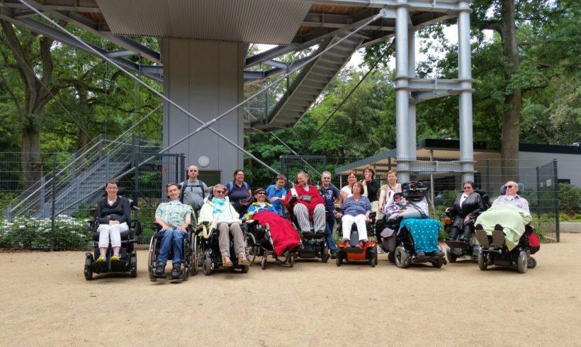 Vereinstreffen Baumkronenpfad in Beelitz am 3. Juli 2016