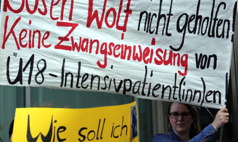1. Demo FÜR den Erhalt der Selbstbestimmung in Berlin