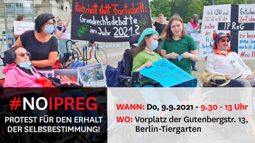 Wir sagen nein!   Protestaufruf    #noIPReG