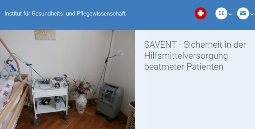 Studienteilnehmer gesucht – Sicherheit in der Hilfsmittelversorgung häuslich beatmeter Patientinnen und Patienten (SAVENT)