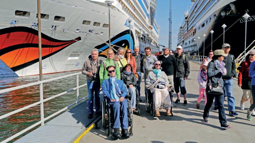 Schiff ahoi – Kreuzfahrt mit Rollstuhl und Beatmung