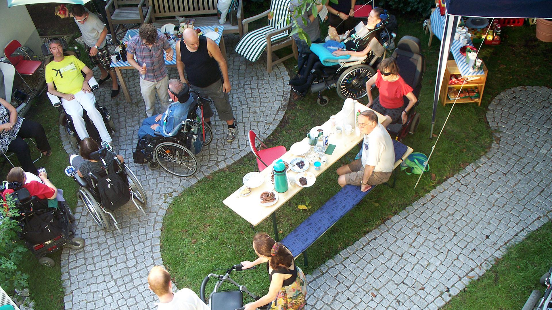 Unternehmungen des ALS-mobil e.V.: Gemeinsames Sommerfest