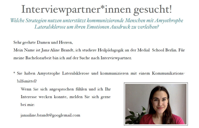 Interviewpartner*innen gesucht!