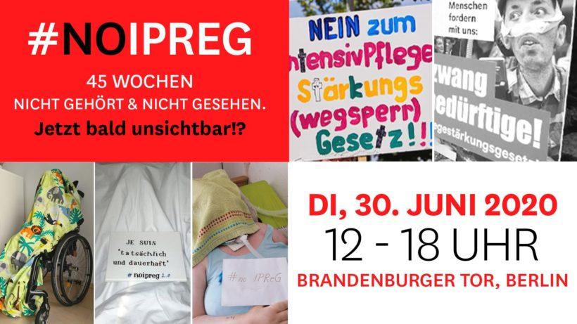 """Protestaktion """"Verhüllt"""" – FÜR den Erhalt der Selbstbestimmung"""
