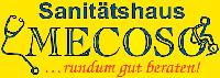 Sanitätshaus Mecoso: Logo